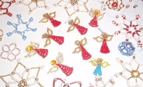 Fotografie ke článku: TIP: Vánoční andělíčkování s korálky