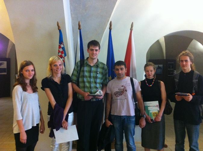 Fotografie ke článku: Na setkání studentských samospráv nechyběli ani zástupci z Telče