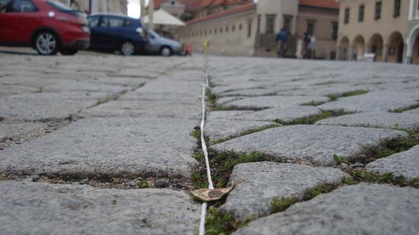Fotografie ke článku: Telčské náměstí se chystá na horácký jarmark