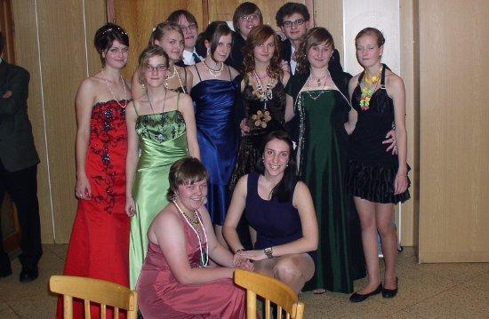 Fotografie ke článku: Závěrečný ples tanečního kurzu