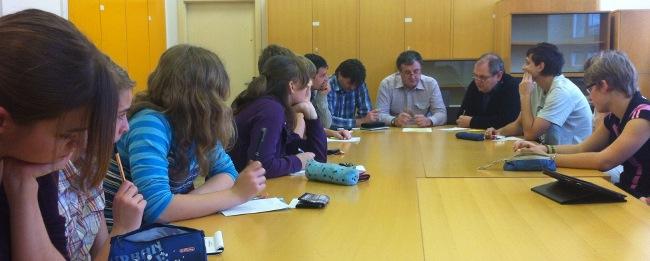 Fotografie ke článku: Zápis ze třetí schůze Studentského parlamentu