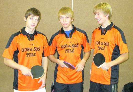Fotografie ke článku: Naši stolní tenisté vybojovali stříbro