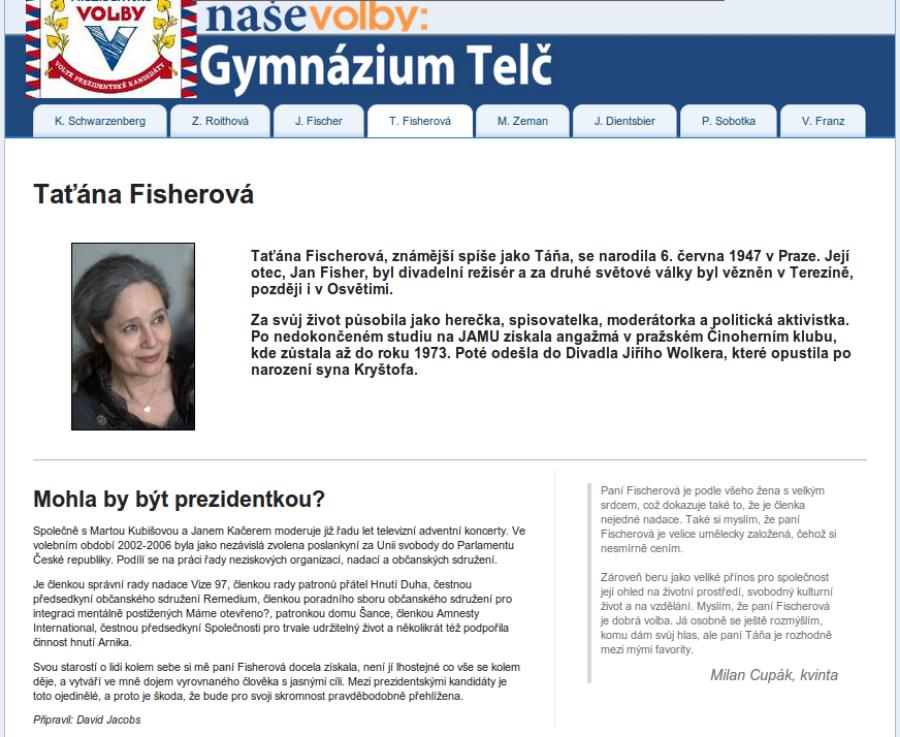 Fotografie ke článku: AKTUÁLNĚ: Studenti zvolí svého prezidenta, spustili jsme nový volební portál