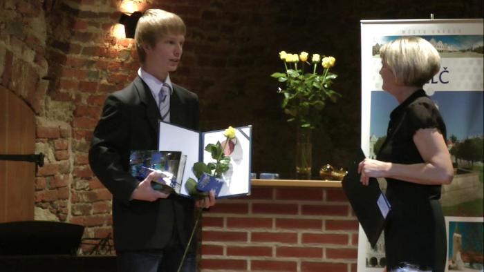 Město Telč udělilo ceny a uznání za rok 2011
