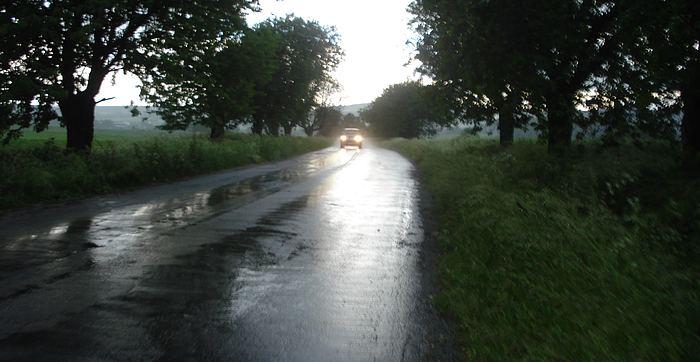 Vydatné deště na Vysočině páchají škody